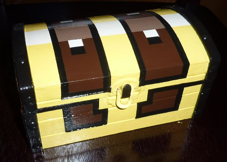 How To Make A Legend Of Zelda Treasure Chest