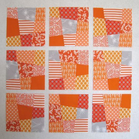 really like this for a baby quilt - but maybe just the nine patch blocks, not the lattice.