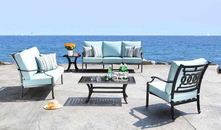 The 25 Best Cast Aluminum Patio Furniture Ideas On Pinterest Outdoor Furniture Design Pink