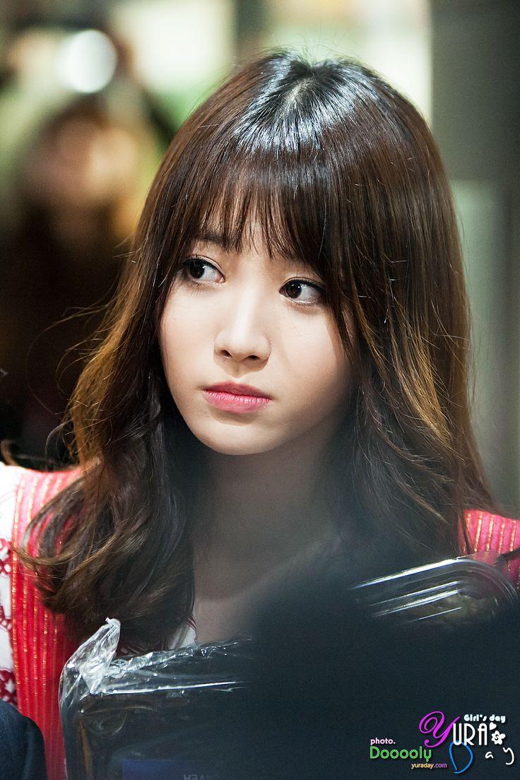 Girl S Day Yura Hair Hairstyles Pinterest Bangs