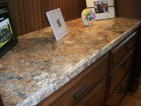 Laminate Golden Mascarello Breakfast Bar Kitchen
