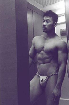 fundoshi style underwear(Twitter)