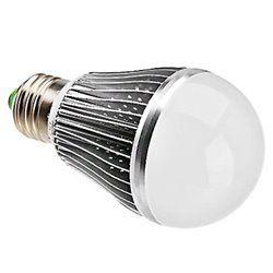 e27 energy saving led bulbs light lamp 7w ac dc 12v home solar dimmable