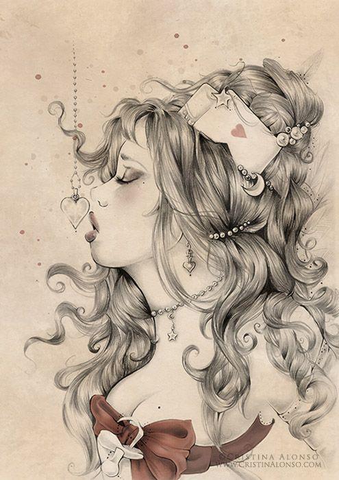 Cristina Alonso. Kissin Hearts. www.cristinalonso.com Facebook: www.facebook.com/cristina.alonso.official.page