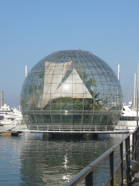 The Biosphere, designed by Renzo Piano