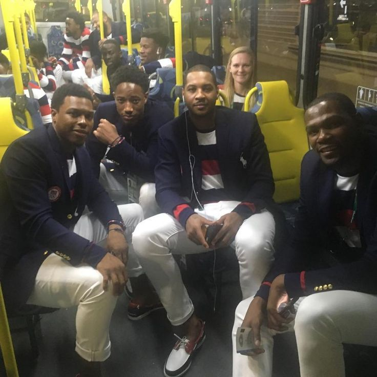 Rio Opening Ceremony: Behind the scenes with the Olympians - Kyle Lowry   USA   Basketball #moretocome #rio2016 @kyle_lowry7/Instagram