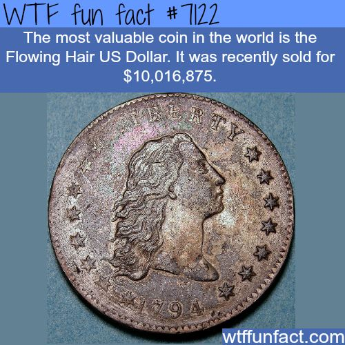 The most valuable coin - WTF fun facts