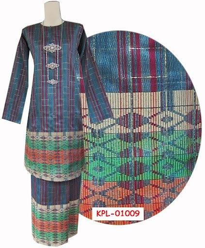 Malaysian Batik NADEN dress