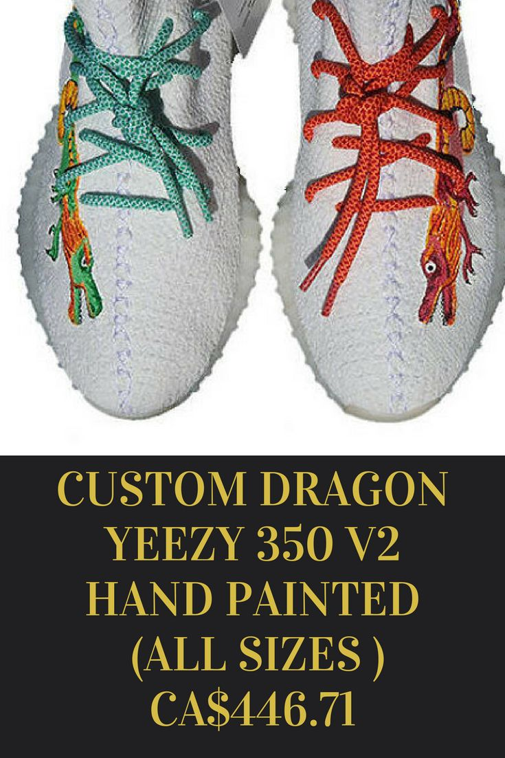 CUSTOM DRAGON YEEZY SHOES , ALL SIZES #ad #yeezy #shoes #sneakers  #sneakerhead