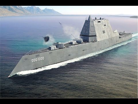 US Navy - DDG 1000 Zumwalt Class Stealth Destroyer