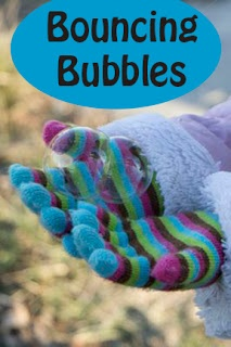 Life with Moore Babies: Bouncing Bubbles