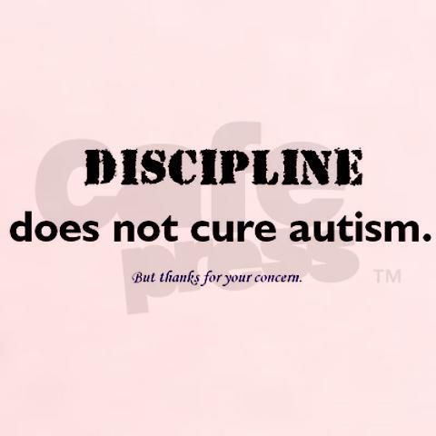 I would truly love it if people understood this fact.  No matter how much you discipline the child, they will go back and do it again.  It takes time, patience, and gentle reminders to work towards fixing the negative attributes.  In our case, it has been medicine, a wonderful school, and a lot of creative thinking.