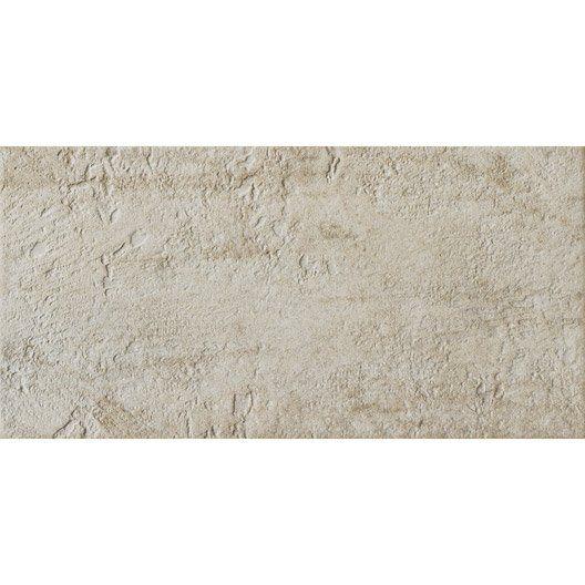 Carrelage mural vestige premium en gr s c rame maill cr me 30 x 60 cm salle de bain for Prix peinture pour carrelage salle de bain