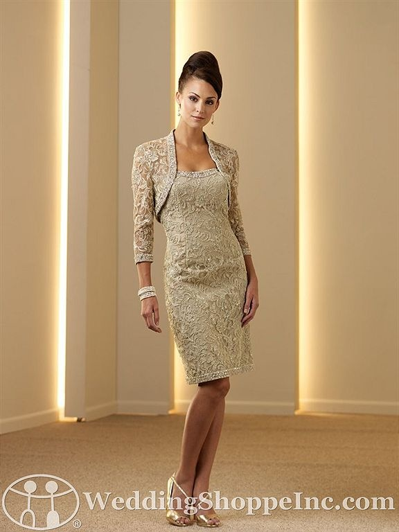 Mother of the Bride Dress... Love this look. What I'm looking for but unfortunately I see this is discontinued.