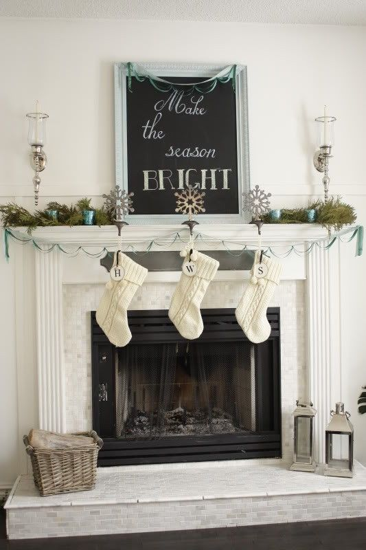 Mantel Decorating Insperation