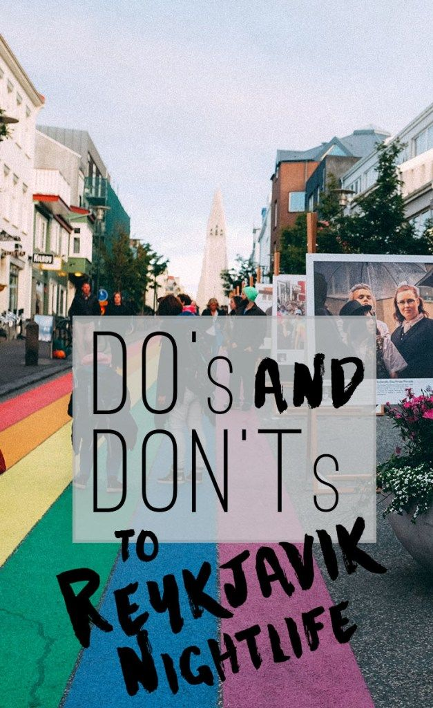 Do's and Dont's of Reykjavik Nightlife