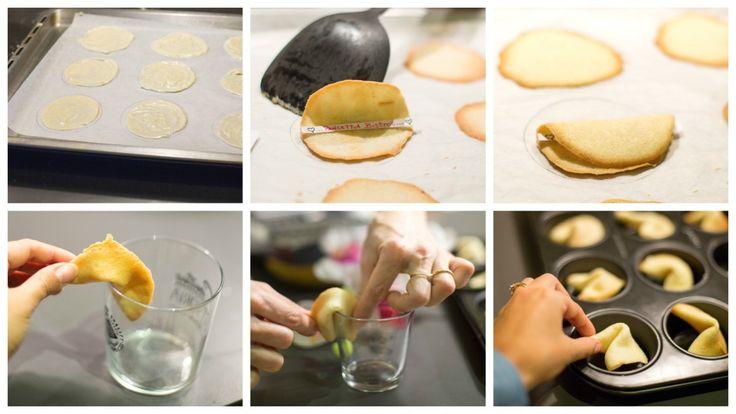 biscotti della fortuna passo passo 3
