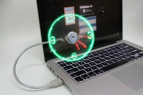 USB Clock Fan - Flintstop.com @ Rs. 1199