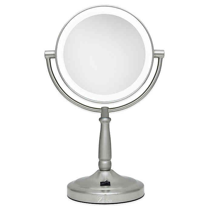Zadro® 10x/1x Cordless LED Lighted Vanity Mirror | Bed Bath