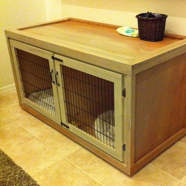 Wooden Dog Crates : Combining Style And Functionality