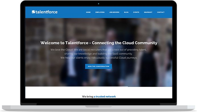 Talentforce brand redesign delivered on time for SF1 World Tour Melbourne..