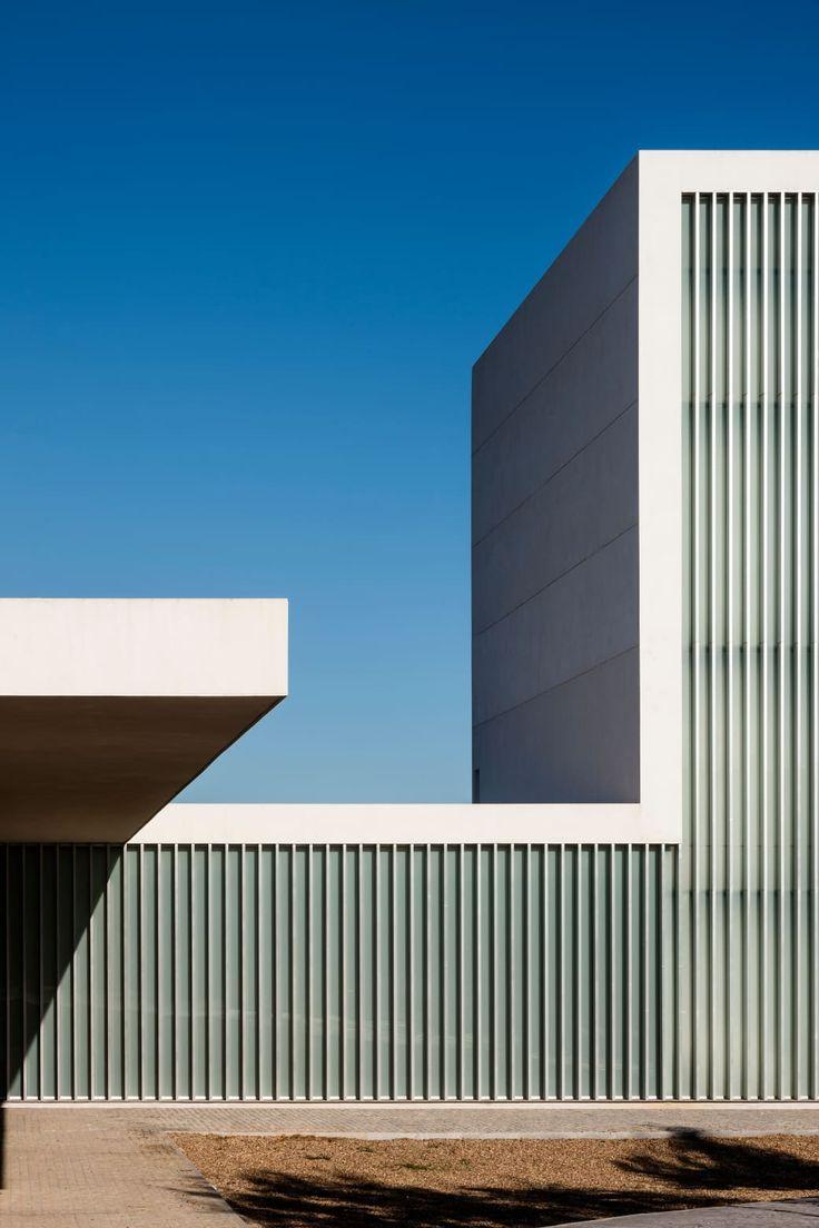 Moderne häuser fassaden fassade aus stein zeitgenössische architektur öffentlicher dienst umwelt design corporate identity bau form