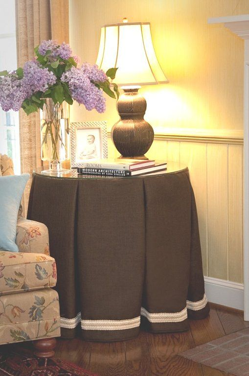La mesa camilla¿ ¿¿¿ya no se estila?? (pág. 6) | Decorar tu casa es facilisimo.com