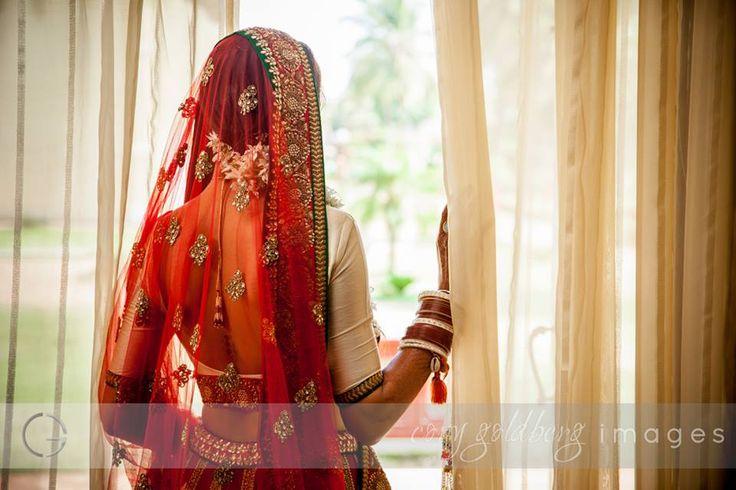 She is completely ready and waiting for him ...Photo by Cory Goldberg Images, Goa #weddingnet #wedding #india #indian #indianwedding #weddingdresses #mehendi #ceremony #realwedding #lehenga #lehengacholi #choli #lehengawedding #lehengasaree #saree #bridalsaree #weddingsaree #indianweddingoutfits #outfits #backdrops #groom #wear  #bridesmaids #prewedding #photoshoot #photoset #details #sweet #cute #gorgeous #fabulous #jewels #rings #tikka #earrings #sets #lehnga