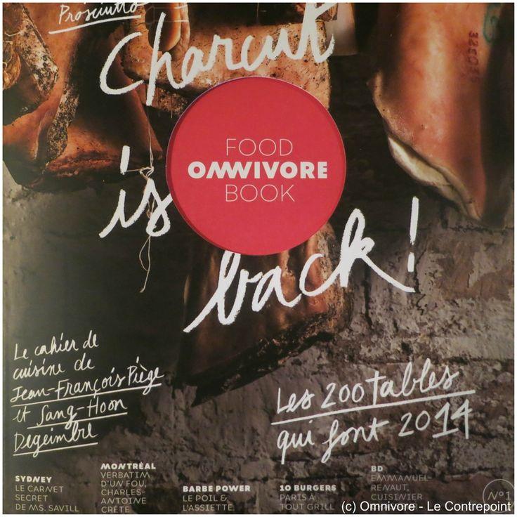 """""""Charcut' is back"""", découvrez le tout nouveau Omnivore Food Book... En librairie le 20 mars 2014"""