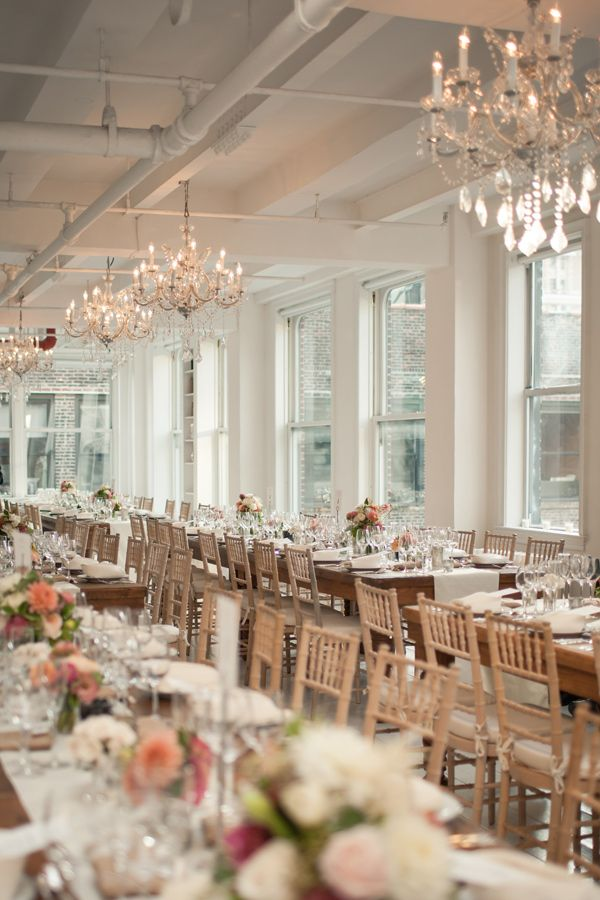 Manhattan Loft Wedding Loft Wedding ReceptionBackyard