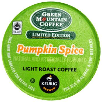 Green Mountain Coffee Pumpkin Spice K-Cups 24ct Seasonal
