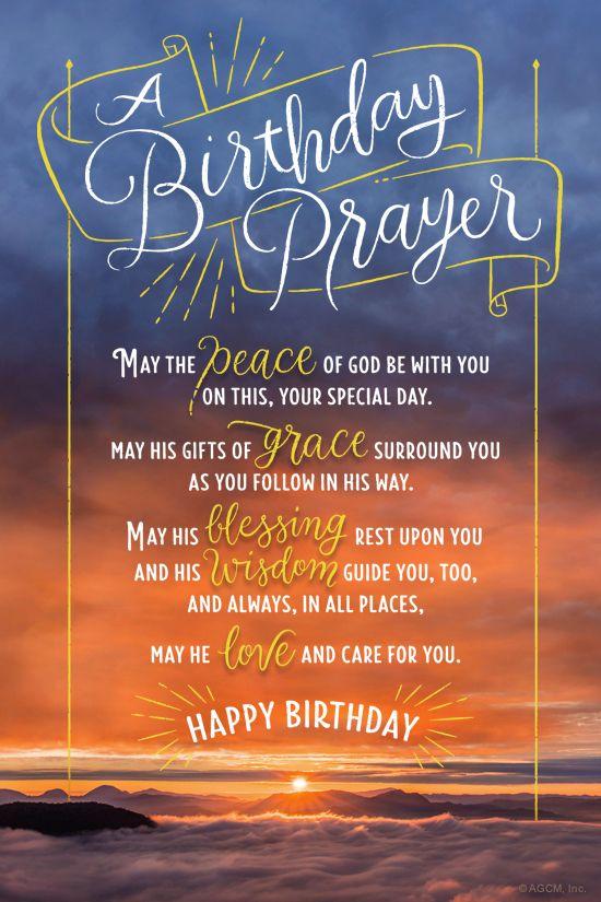 Quot Birthday Prayer Poem Quot Birthday Ecard Blue Mountain