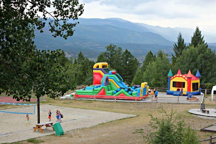 Base Camp #FairmontHotSpringsResort #BaseCamp #bouncycastles #kids #fun #travelbc #destinationbc #resort #kidscamps #daycamp #BCRockies