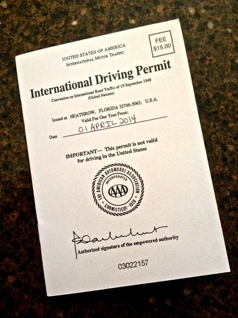International Driving Permits - Are They Really Necessary? - What Boundaries Travel