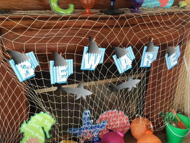 Shark Week 2016 – Shark Banner – Water Walker Events – Design – Planning