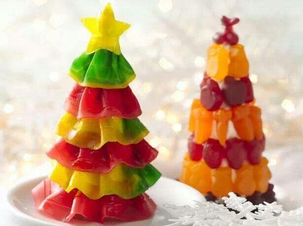 Kerstbomen van snoep