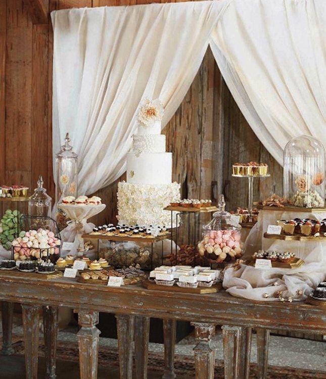 How to DIY Blake Lively + Ryan Reynolds' Wedding Dessert Table | Brit + Co