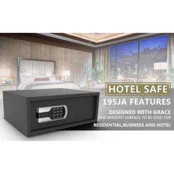 ลดราคา  ตู้นิรภัย HOTEL SAFE Model 195JA&(สีดำ)  ราคาเพียง  3,199 บาท  เท่านั้น คุณสมบัติ มีดังนี้ HOTEL SAFE Designed with grace and smooth surface to be used forResidential, Business and Hotel&
