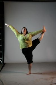 yes, fat people can dance, and be flexible and do yoga and run. -- Who Is This Chick? this chick is Ragen Chastain.  Dancer, Choreographer, Writer, Speaker, Fat Person.