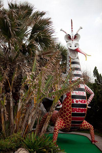 Magic carpet golf galveston texas seaside fun in for Ideas for mini vacations