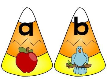 This is the perfect center for fall! Students are sure to love the colorful graphics in this matching activity. All you need to do is print on cardstock and laminate for durability. Cut apart the candy corn and you have a super fun, yet educational center activity!