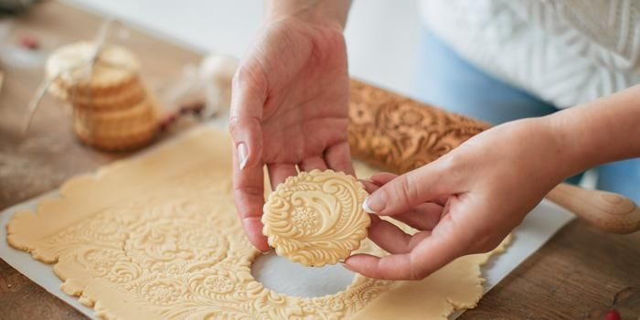 Frost Rolly Pin Pastrymade Baking Project Embossed Rolling Pin How To Make Cookies