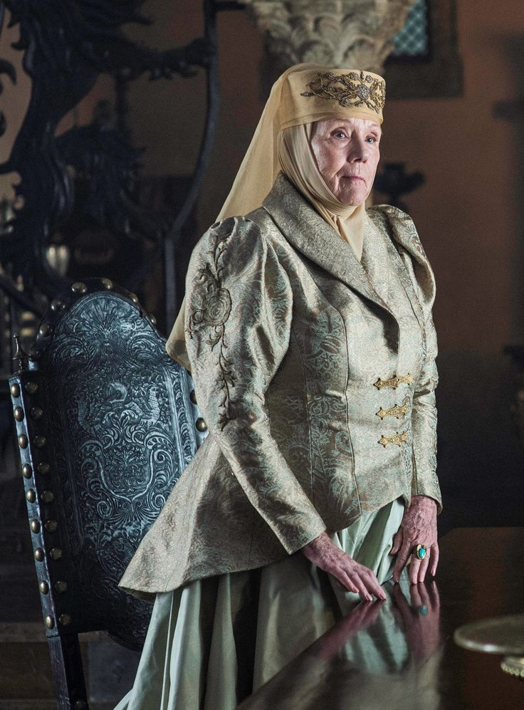 Lady Olenna Tyrell - Book Of The Stranger Season 6 Episode 4