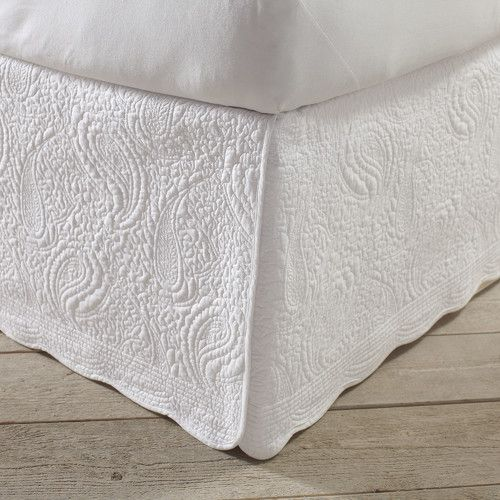 Found it at Joss & Main - Quilted Bed Skirt