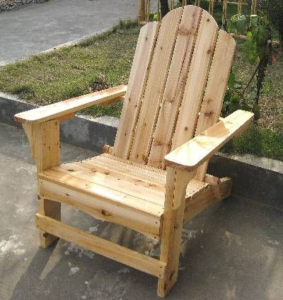 "This classic traditional style Adirondack chair is built with full 1"" northern white cedar wood and has been designed for comfort with a gently curved back. This Adirondack chair is foldable for easy transportation and storage when not in use. Bring charm and comfort to your home!"