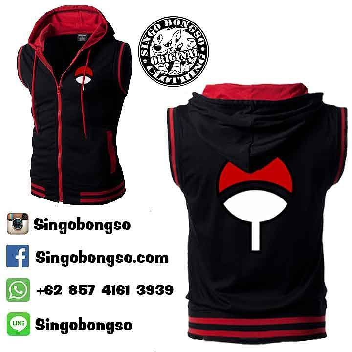 VEST UCHIHA CASUAL  Price : IDR 209 / USD 26 Material :  Cotton fleece Application :  screen printing  Delivery from Indonesia  Contact : ORDER BBM : 590007F2 WA : 62 857 4161 3939 LINE : singobongso  RESELLER BBM : 7D7993CF WA : 62 89 659 326 456 email : singo.bongso@gmail.com  Facebook http://ift.tt/1VLnZ12 http://ift.tt/1XzdPBW Instagram http://ift.tt/1OhgqcD http://ift.tt/210r841  Singobongso Anime Clothing Jaket Anime | Kaos Anime | Store Anime | Tas Anime | Jaket Naruto | Jaket…