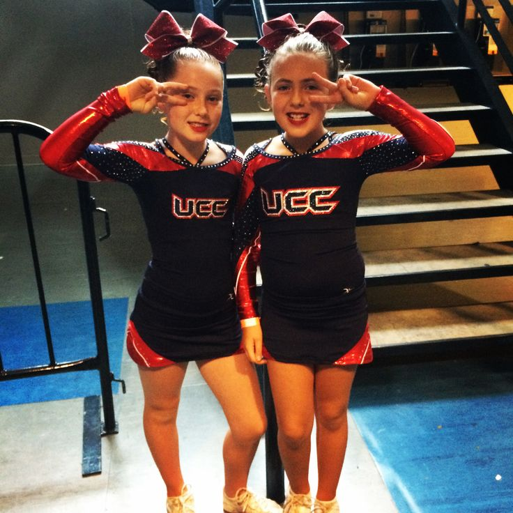 Cubs athletes in their new uniforms! www.ultimatecheer.ca #BeUltimate