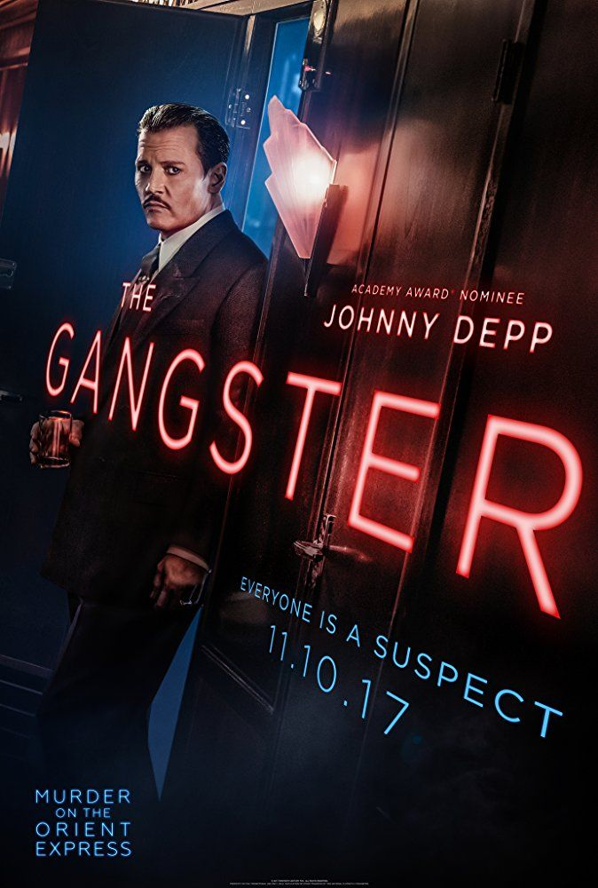 Johnny Depp is The Gangster