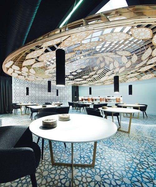 Gg Architects Design Andalusian Noor Restaurant In Córdoba Spain