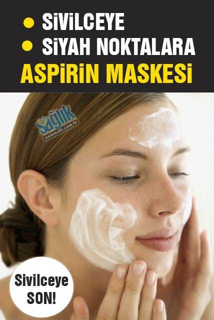 Sivilce ve siyah noktalara aspirin maskesi! Cildinize doğal yoldan peeling yaparak sivilce ve siyah noktalarınızdan kurtulmaya ne dersiniz? İşte sivilceli ciltler için aspirin maskesi tarifi...
